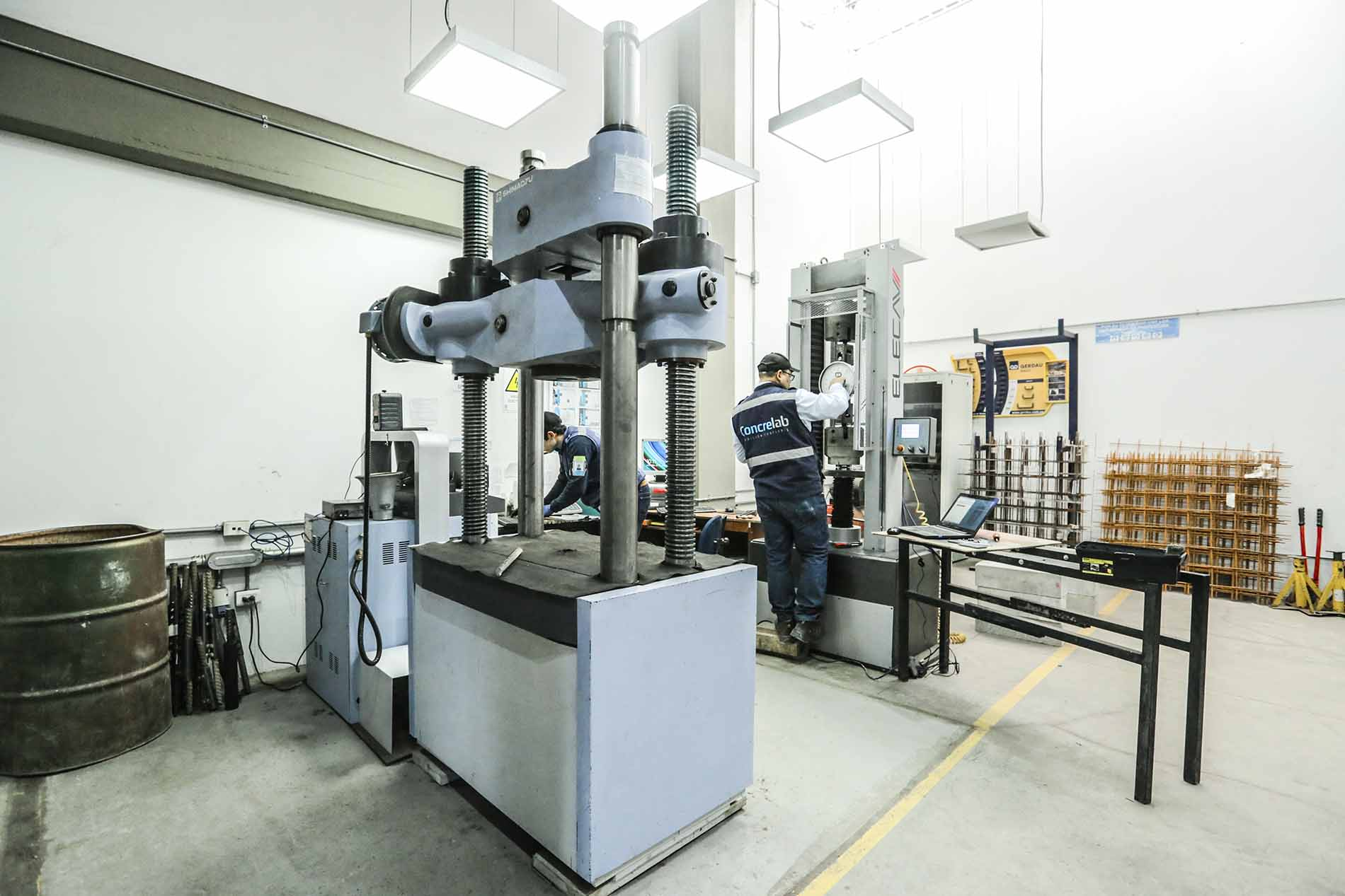 Laboratorio de Ensayos Mecánicos