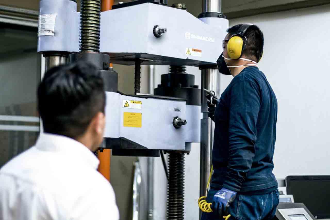 Laboratorio de ensayos de materiales - concrelab - Ensayos mecanicos